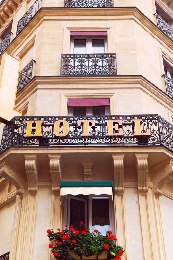 European hotel royalty free stock images