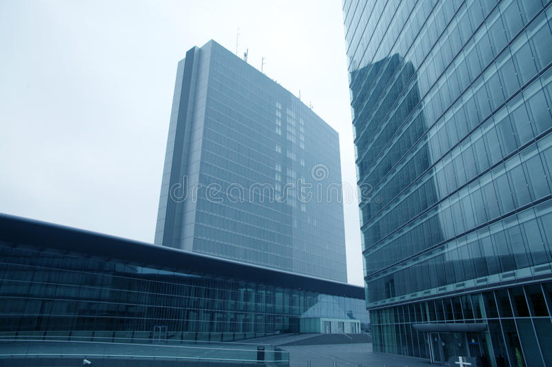 European institutions buildings royalty free stock photography