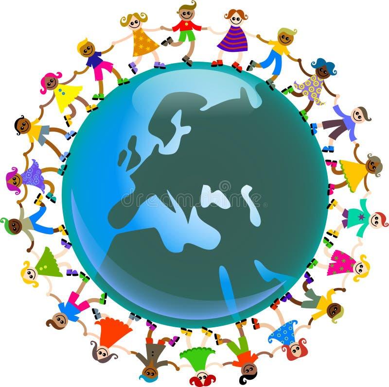 Download European kids stock illustration. Illustration of illustration - 9844192