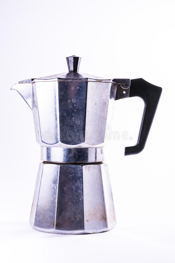 Download European Metal Coffee Maker Dirty Household Object Boiler Water Stock Photo - Image: 78751806
