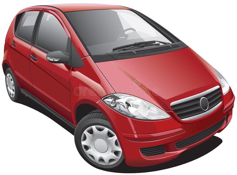 Download European Modern Minivan stock vector. Image of style - 25617051