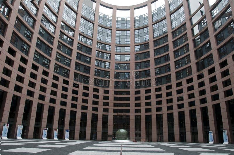 European parlement stock photo