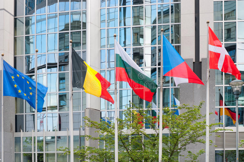 Download European Parliament Building In Brussels Stock Photo - Image: 27369234