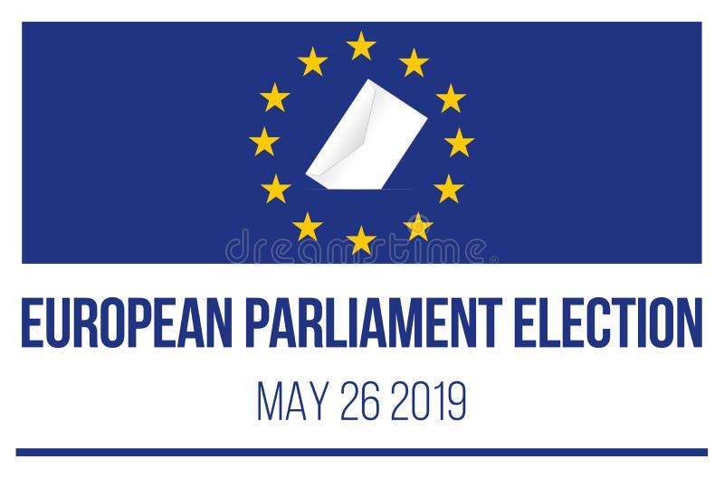 2019 European Parliament election royalty free illustration