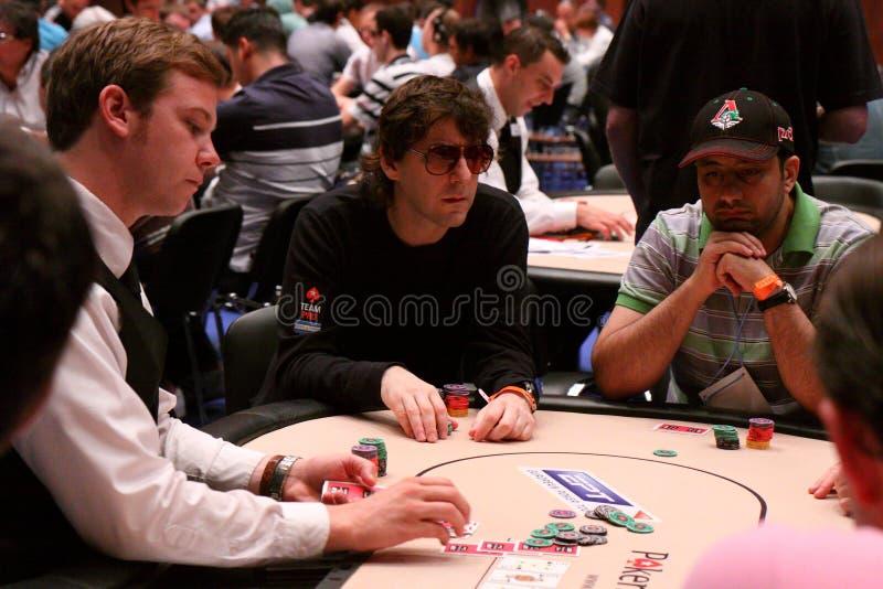 European Poker Tour Kyiv royalty free stock image