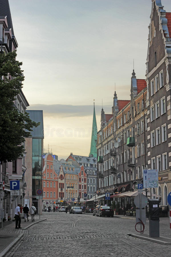 Download European street editorial stock photo. Image of french - 39348513