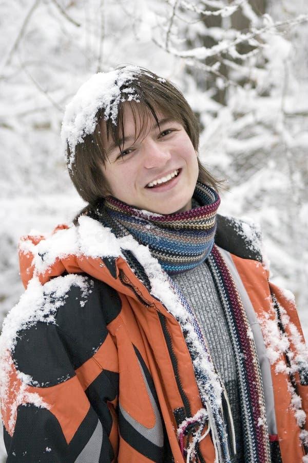 Download European Teens Boy In Scarf Stock Photo - Image: 5322120