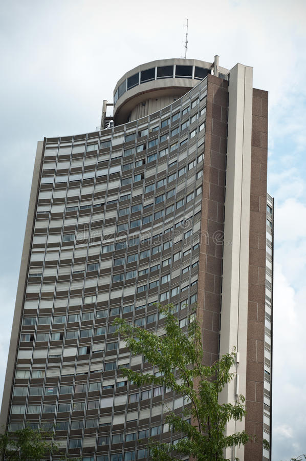 Download European Tower In Mulhouse Editorial Image - Image: 42914270