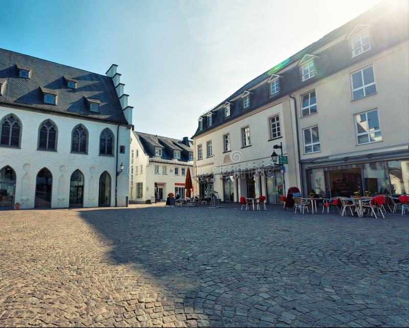 European Town Royalty Free Stock Photo