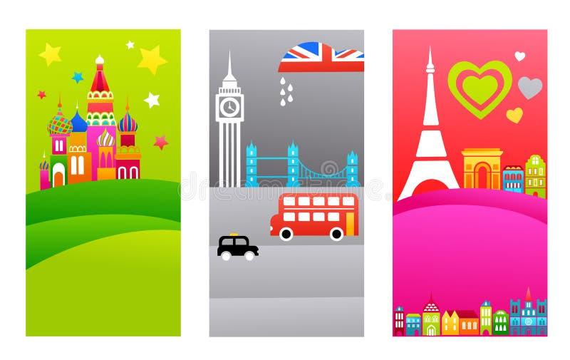 Download European Travel Destinations Stock Vector - Image: 14640532