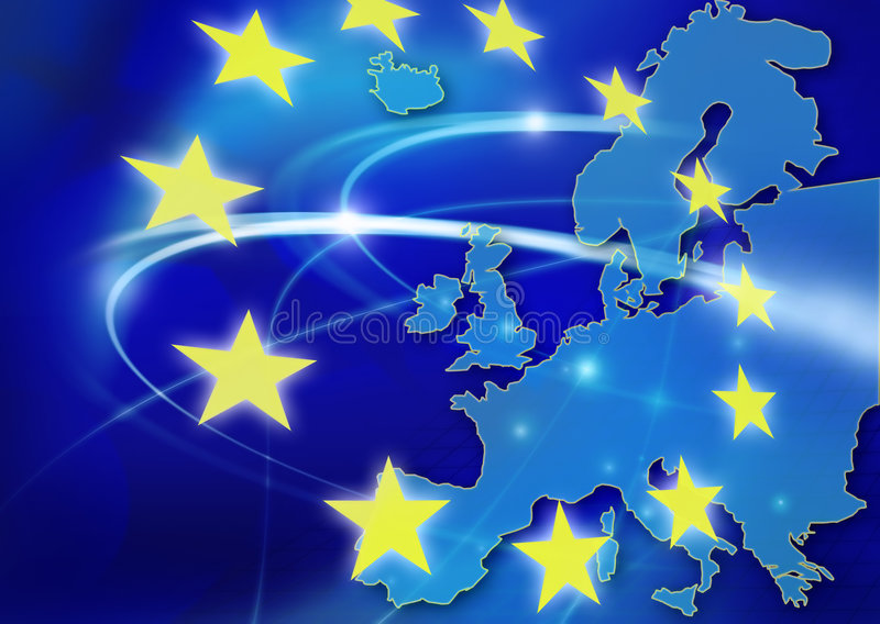 European Union royalty free illustration
