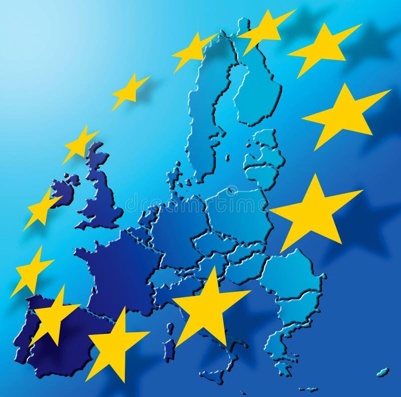 European_Union. European Union map. RGB, 20x20cm, 300dpi