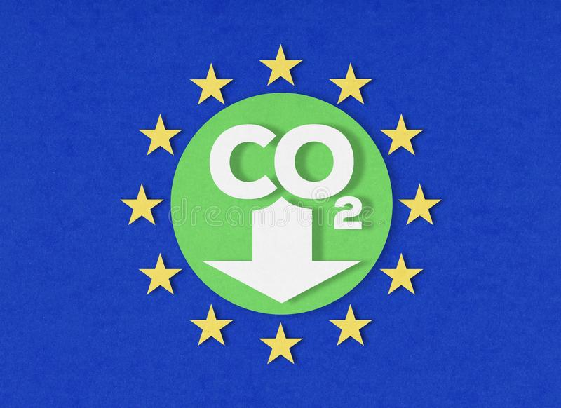 European Union climate action royalty free stock images