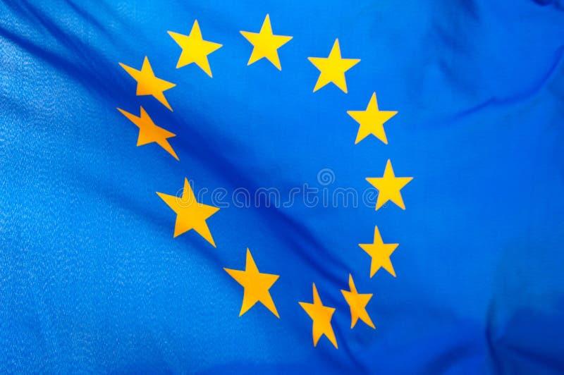 European Union flag. The blue European Union flag royalty free stock images