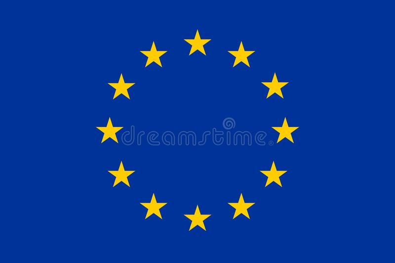 Download European Union Flag Standard Royalty Free Stock Image - Image: 11138626
