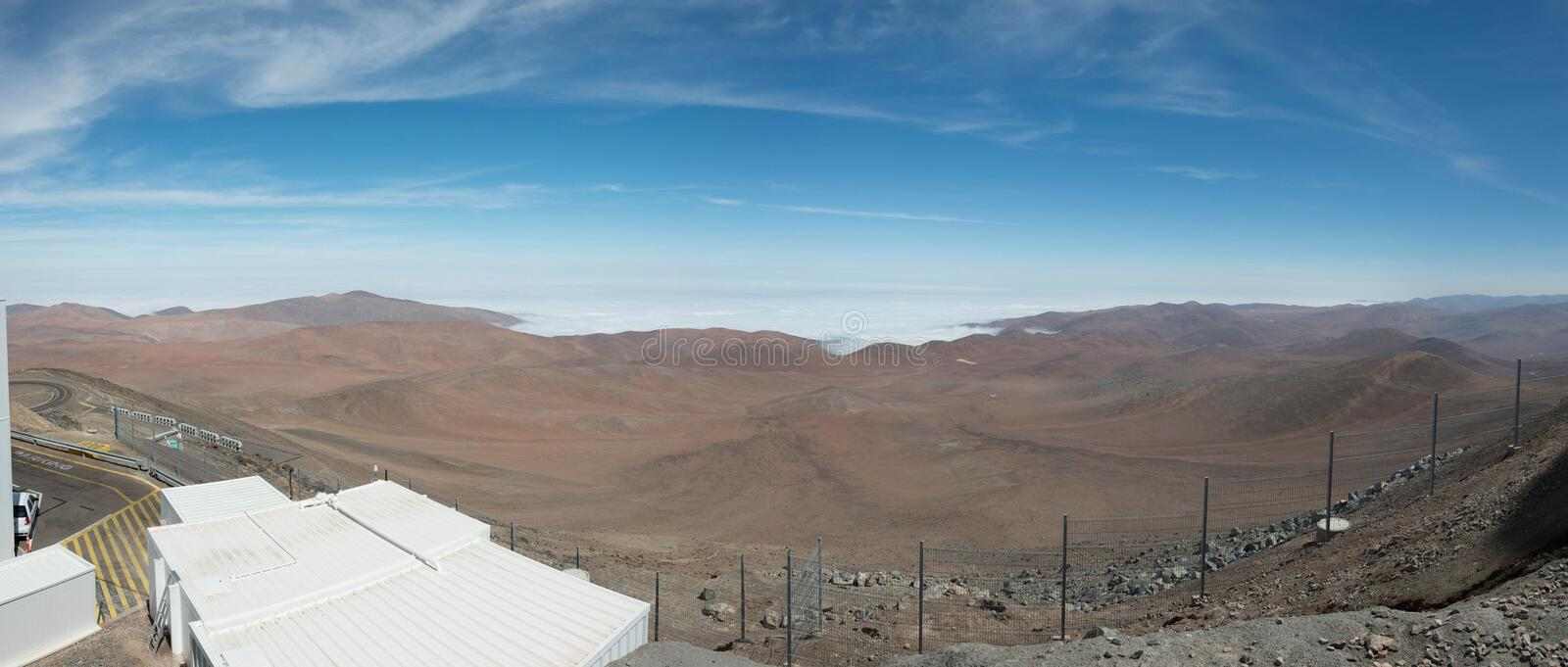 European Very Large Telescope Chile stock photography