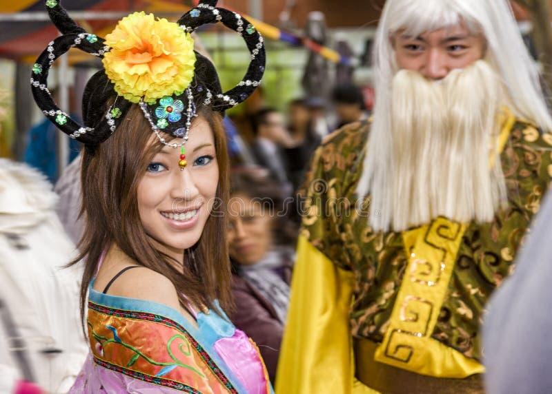 Europees-Aziatisch meisje royalty-vrije stock foto