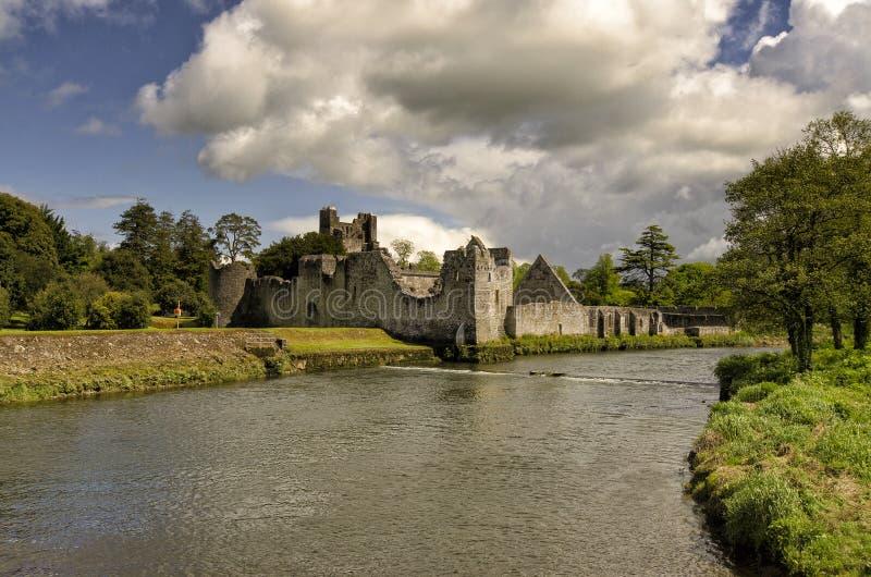 Europees kasteel royalty-vrije stock afbeeldingen