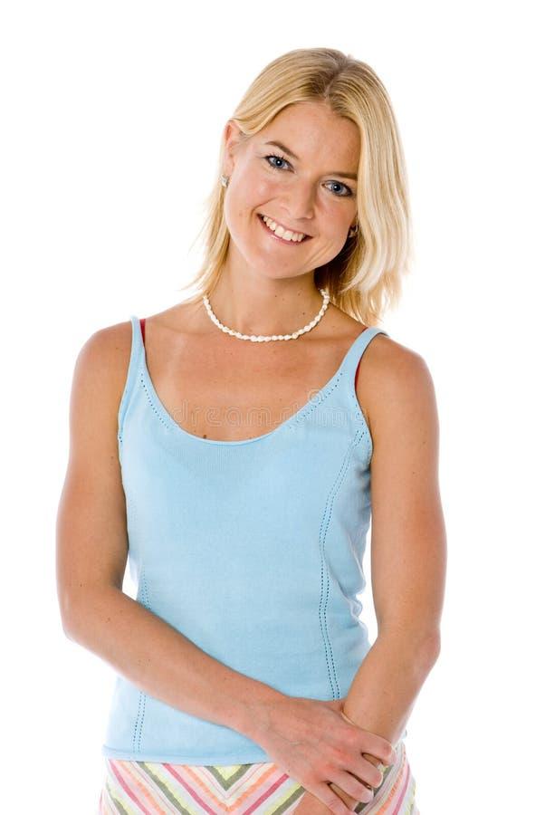 Europees Meisje royalty-vrije stock afbeelding