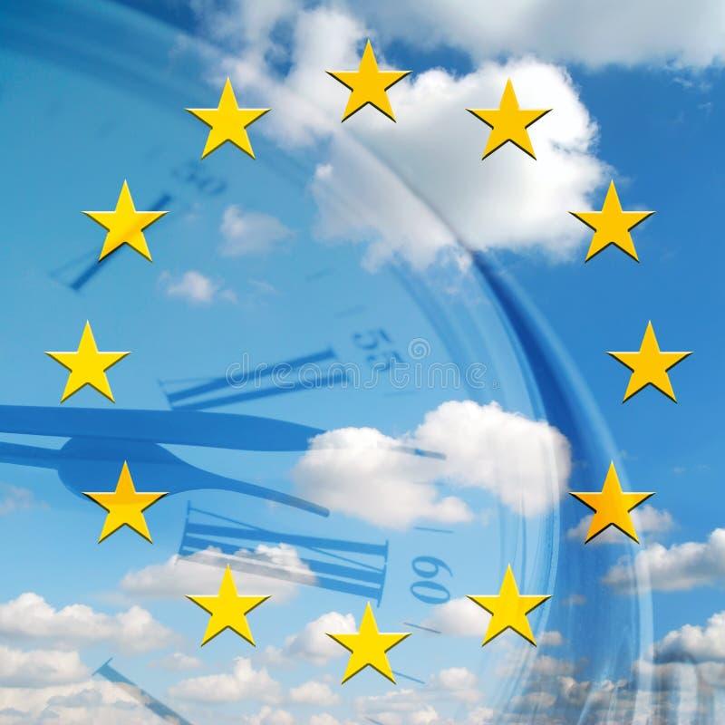 Download Europees tijdconcept stock afbeelding. Afbeelding bestaande uit tijd - 10780383