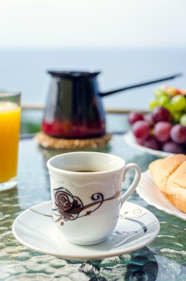 Europees vakantie gezond ontbijt royalty-vrije stock fotografie