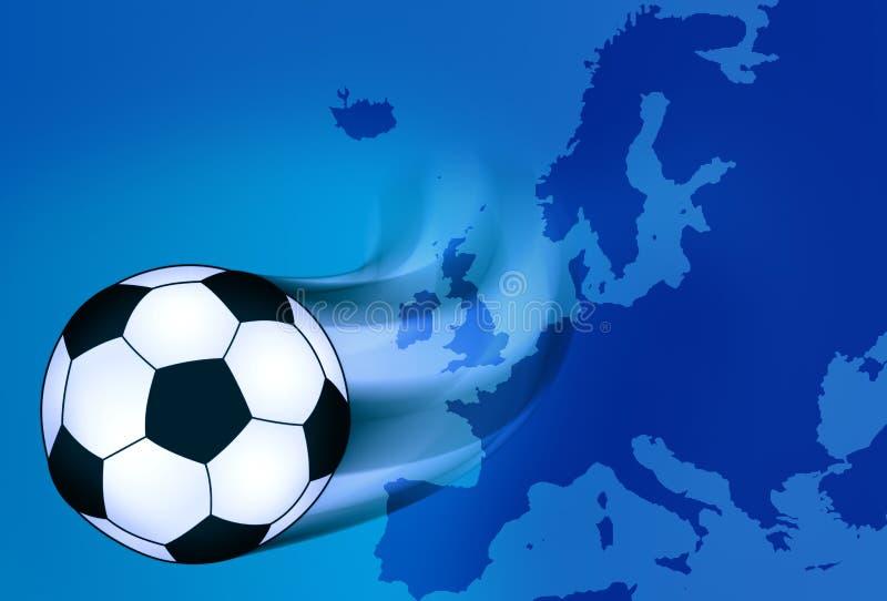 Europees voetbal vector illustratie