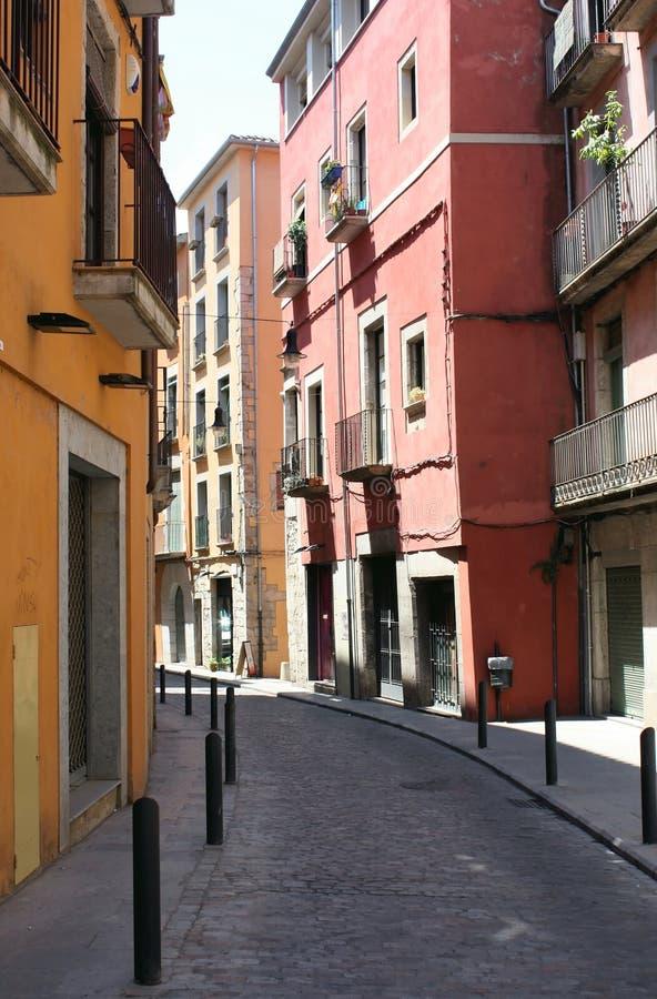 europeisk gata royaltyfria foton