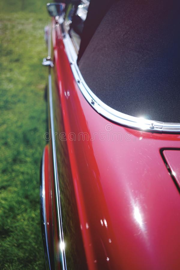 Europeisk klassisk cabriolet royaltyfria foton