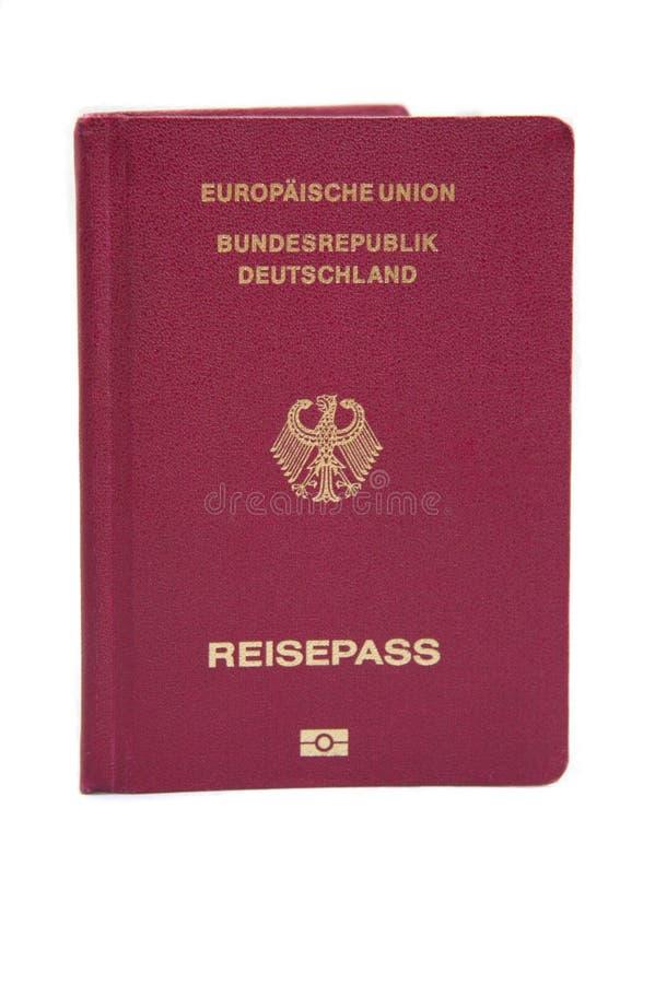 europeisk tysk passunion arkivbild