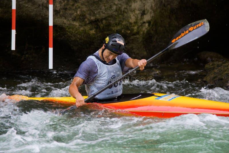 europeisk yngre slalom u23 för kanotmästerskap fotografering för bildbyråer