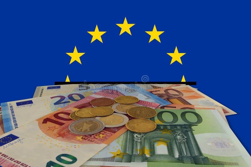 Europeiska besparingar arkivfoton