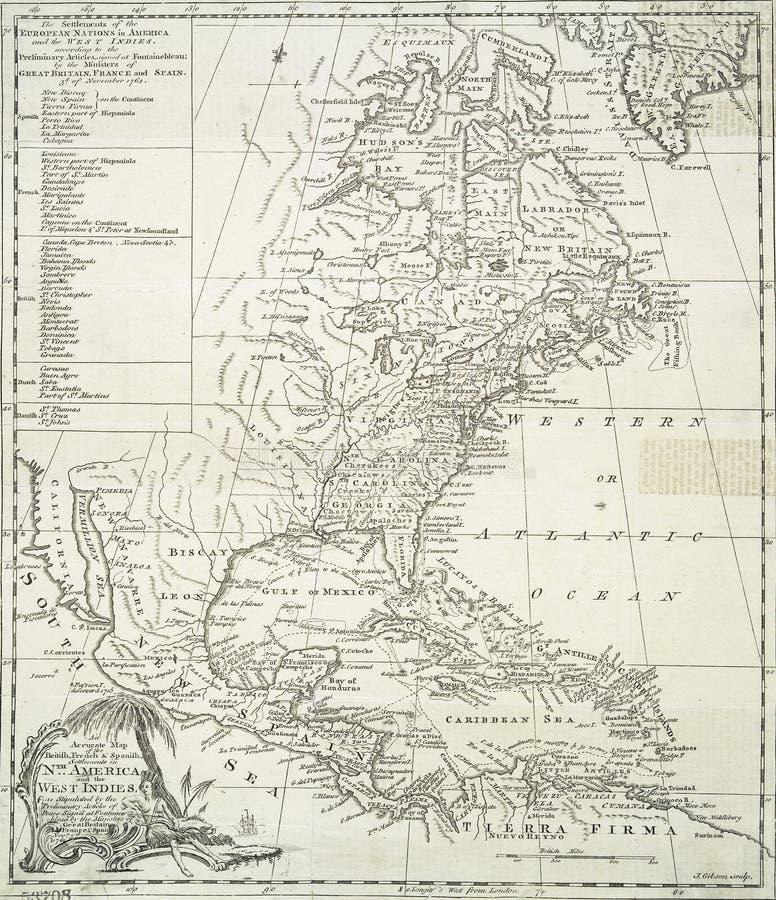 Europeiska bosättningar i Americasna vektor illustrationer