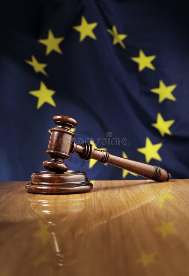 Europeiska lagar arkivbild