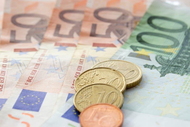 Europeiska pengar 4 royaltyfria foton