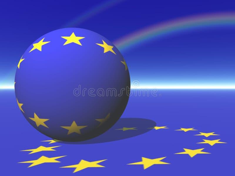 Europeiska union vektor illustrationer