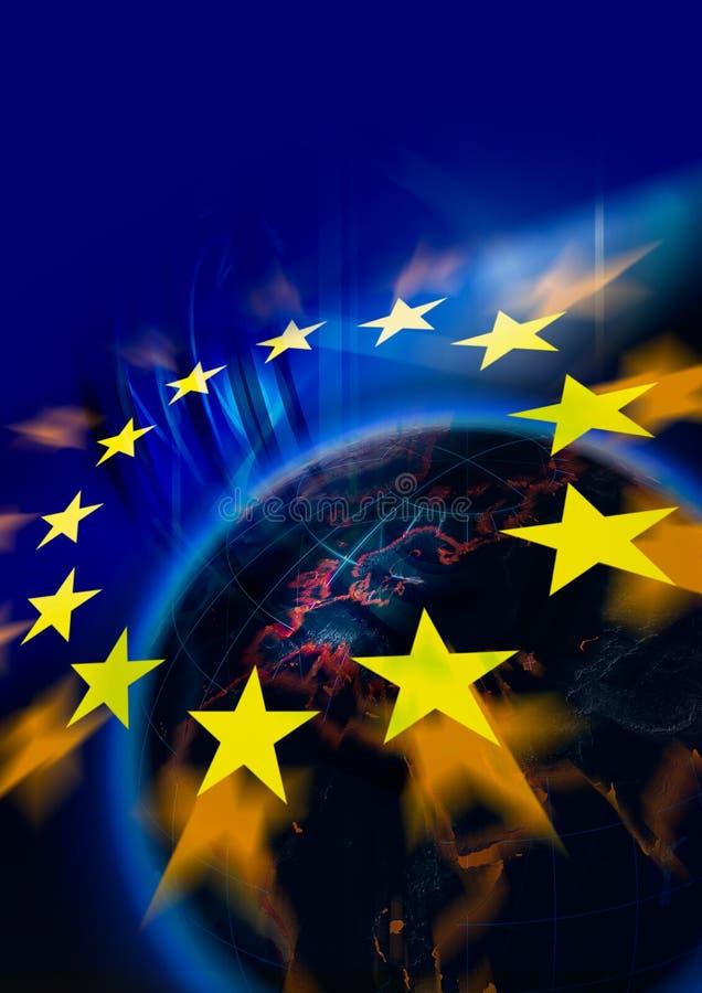 Europeiska union royaltyfri illustrationer