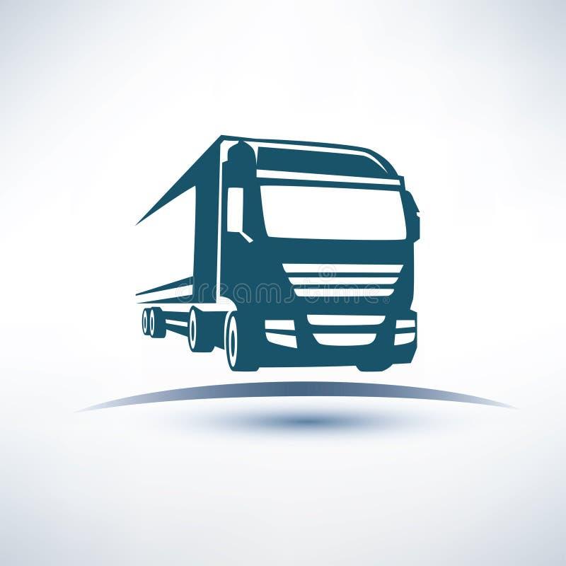 Europejczyk ciężarówka royalty ilustracja