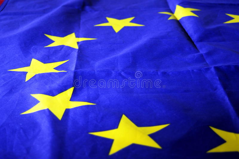 europejczyk flaga zdjęcie royalty free