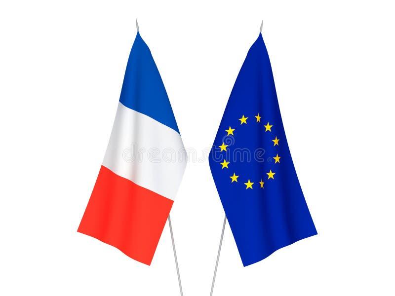 europejczyk zaznacza France zjednoczenie ilustracji