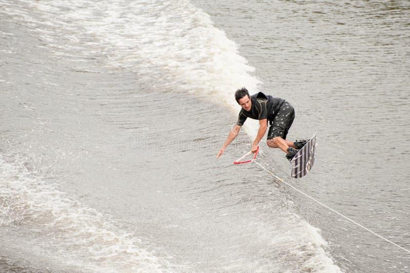Europejczyka Wakeboard mistrzowie zdjęcia royalty free