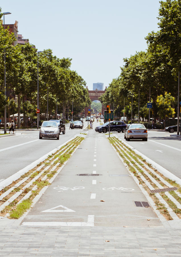 Europejscy miasta, Barcelona obrazy royalty free