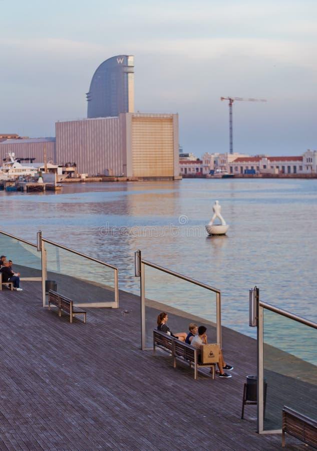 Europejscy miasta, Barcelona obrazy stock