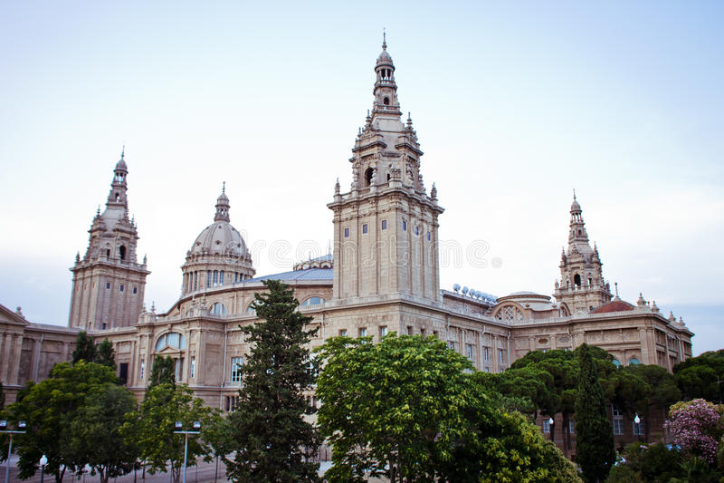 Europejscy miasta, Barcelona fotografia stock