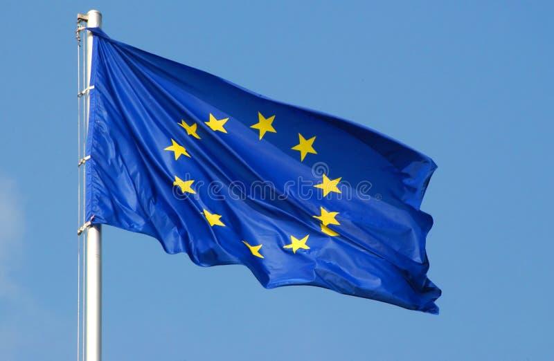 europejska flaga europejskim obraz stock