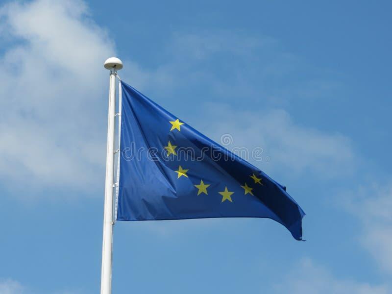 europejska flaga europejskim obrazy stock