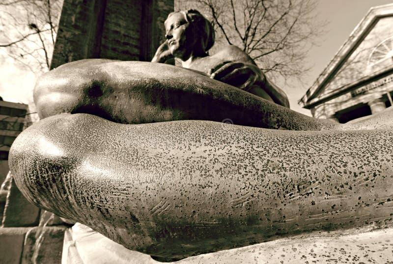 Europejska statua kobieta obraz stock