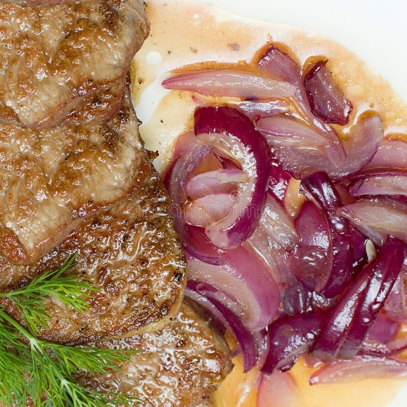 europejski karmowy smakosz piec na grillu mięso zdjęcie stock