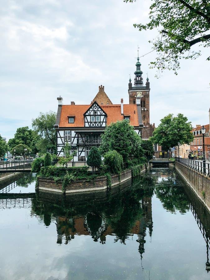 Europejski miasta t?o obraz stock