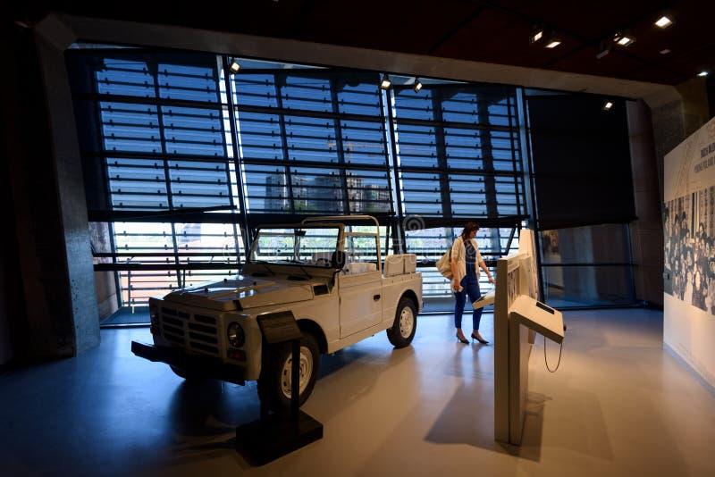 Europejski solidarności Centre, Gdański fotografia royalty free