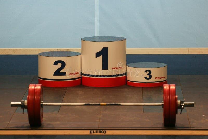 Europejski Weightlifting mistrzostwo, Bucharest, Rumunia, 2009 fotografia stock